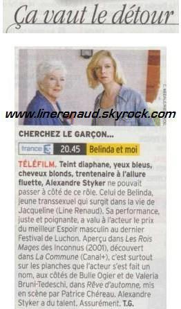 Line Renaud - Presse (MAJ 14/03)