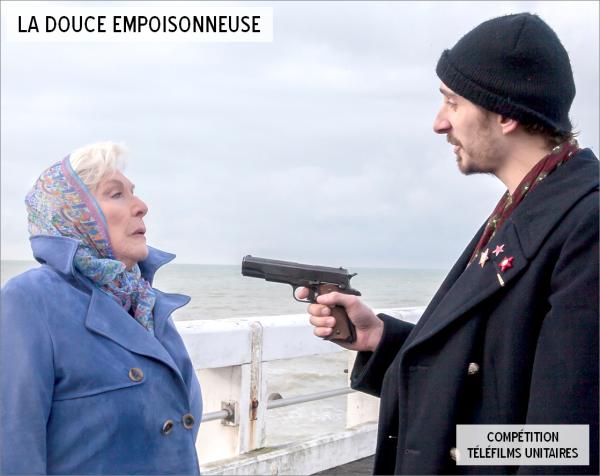 """Line Renaud - Projection de la """"Douce empoisonneuse"""" à La Rochelle"""