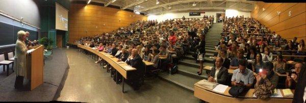 Line Renaud - Marraine de la promo 2014-2015 MED2 de la Faculté de Médecine de Lille 2