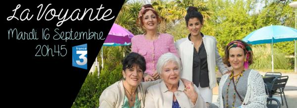 Line Renaud - Diffusion de La Voyante: itw du Figaro