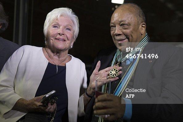 Line Renaud - Anny Duperey et Quincy Jones à l'honneur!