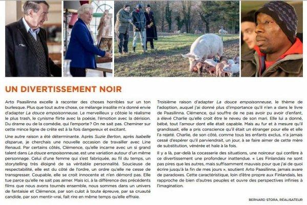 """Line Renaud - Dossier de presse """"La douce empoisonneuse"""""""