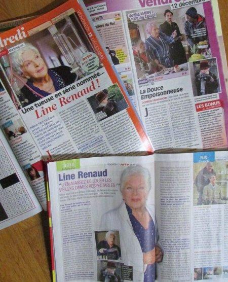Line Renaud - Presse télé ....