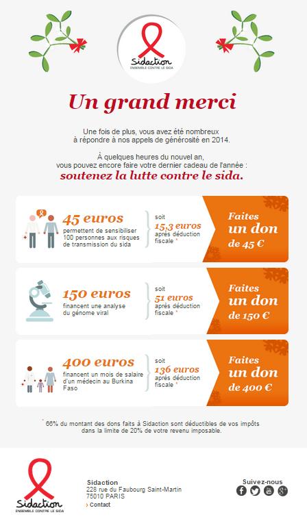Line Renaud - Sidaction: Merci pour 2014!