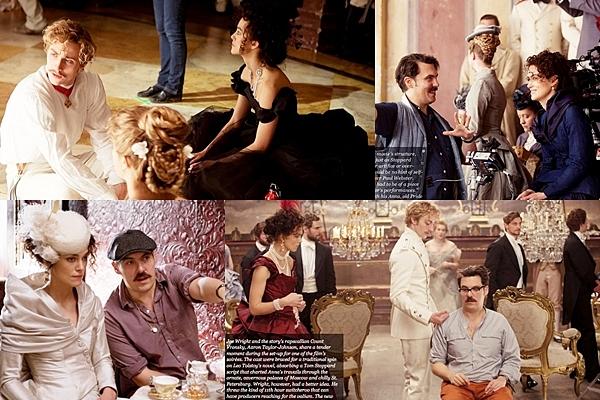12 Septembre 2012 Voici quelques photos d'une conférence de presse auquel Keira a participé pour son nouveau film :  Anna Karenine.