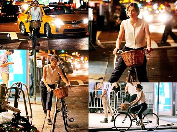10, 11 et 12 Juillet 2012 Keira a été aperçu sur le tournage de 'Can A Song Save Your Life?' à New York City.
