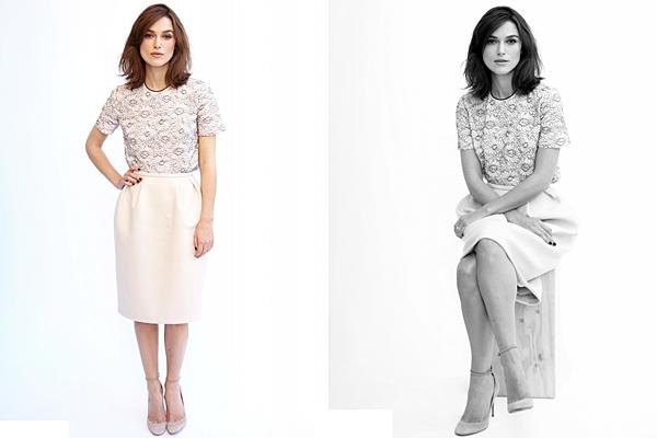 10 Novembre 2012 Voici les 3 clichés du magazine ALLURE ainsi que 4 photo on the set.