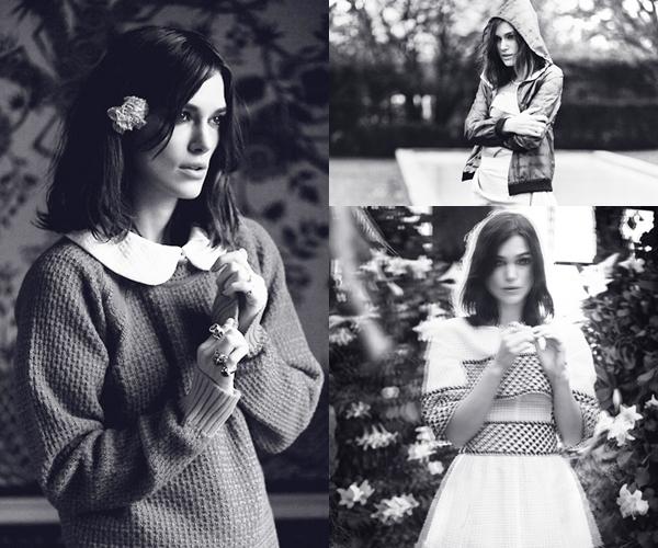 4 Février 2013 Keira pose pour le magazine Marie Claire anglais de mars 2013.