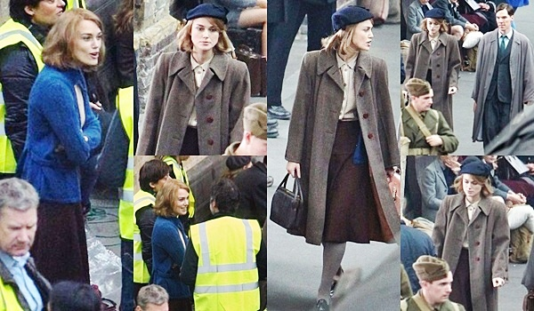 20 Octobre 2013 :  Keira et Benedict Cumberbatch ont été aperçus en train de tourner des scènes à la gare de Kings Cross pour leur prochain film « Le jeu de l'imitation »