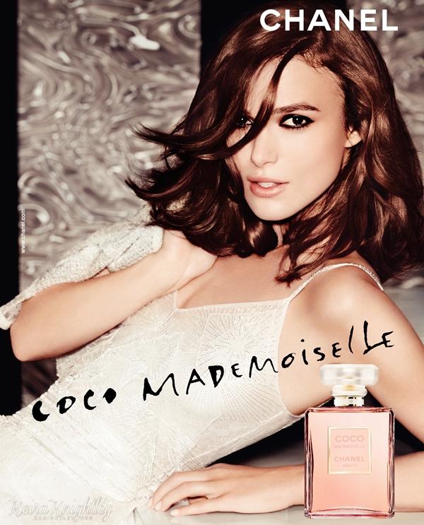 Coco Mademoiselle :  Une nouvelle affiche publicitaire du parfum Coco Mademoiselle Chanel est disponible !