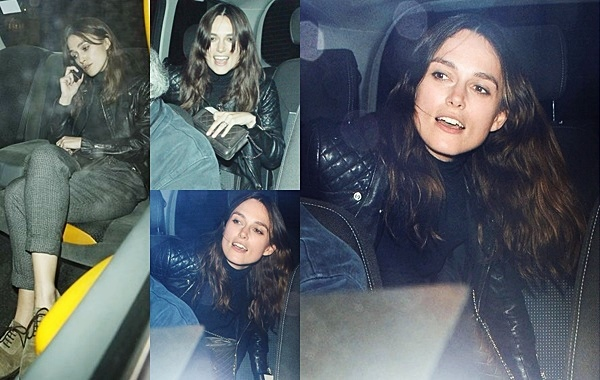 28 Mai 2014 :  Keira était au restaurant Chiltern Firehouse.