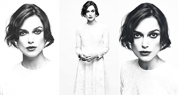 26 Juillet 2014 :  Keira fait la couverture du magazine Glamour (Pologne)