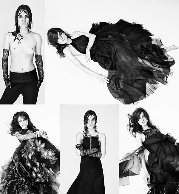 25 Août 2014 :  Nous avons bien eu droit à d'autres photos provenant du shooting réalisé par le photographe français Demarchelier pour le magazine Interview.