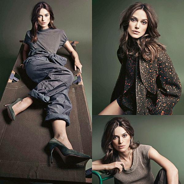 """6 Octobre 2014 :  Trois nouvelles photos du shooting pour Glamour UK sont désormais disponible. Je vous ai mis aussi la vidéo """"Behind the scene""""."""