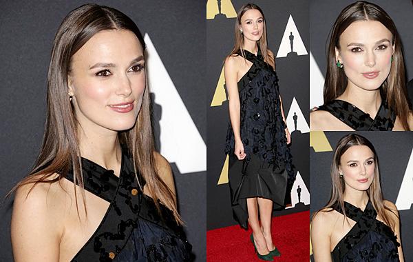 8 Novembre 2014 :  Notre actrice était présente au Governors Awards à Hollywood & Highland Center. Elle était accompagnée de son partenaire : Benedict Cumberbatch