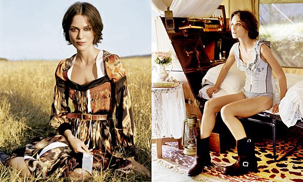 Photoshoot :  Découvrez ou redécouvrez les clichés d'une shooting photo réalisé en 2008 pour le magazine Vogue. Vous pouvez voir la couverture du magazine : ICI.