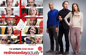 Red Nose Day •Le Red Nose Day Actually va être diffuser prochainement aux Etats Unis. Une bande d'annonce est désormais disponible. De plus, une affiche et une photo promotionnelle sont sorties !