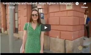 Le 15 Juin 2017 • Keira a été vue avec son mari, James Righton faisant du shopping dans les rues de Budapest. Elle est actuellement en Hongrie pour le tournage de son nouveau film : Colette !