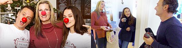 Le 4 Février 2018 Keira Knightley a été vue dans les rues de Londres lors d'une séance shopping. Elle a notamment acheté un petit cadeau pour sa fille : une baguette magique !