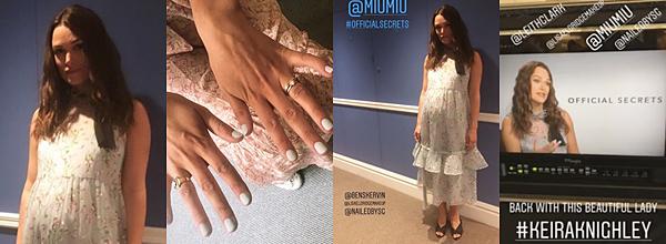 Le 16 Juin 2019 • Keira a été aperçue faisant du shopping à Londres.