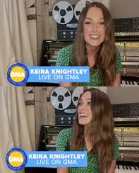 25 Septembre 2020 : •Keira a été interviewée par Cimena Blend pour la promotion de Misbehaviou mais aussi le site Coming Soon où elle parle de sonrôle dansStar Wars : La Menace Fantômedont elle ne se souvenait plus du nom de son personnage. Elle portait une robe signée Hvn.