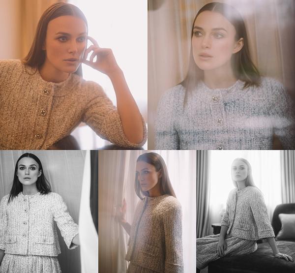 CHANEL : •Pas de nouveau photoshoot Chanel, mais utilisation d'anciennes photos pour la nouvelle gamme de produits Coco Mademoiselle.
