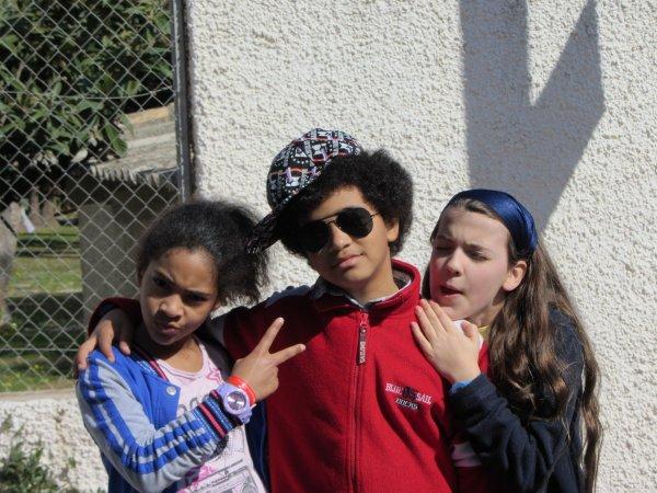 ma soeur, mon cousin et ma cousinne