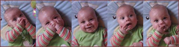 ღ Tu sais maman, à chaque fois que tu me dit je t'aime, une étoile s'allume dans le ciel ღ  Maeva 1 ans, 23/03/2010  Source : Enfandises.com