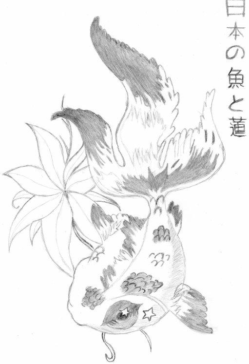 Turbo Poisson japonais - Blog de dessins-de-moi-manga XO55