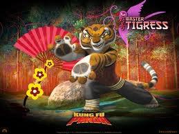 Tigresse dans Kung Fu Panda