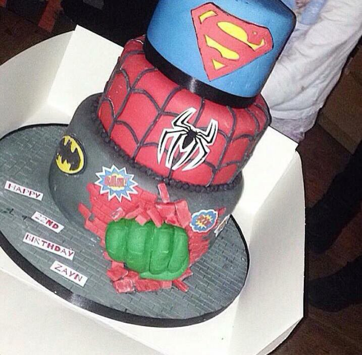 le gâteau de Zayn !!!