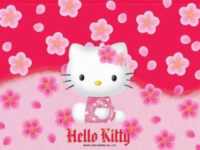 il faut continuer avec hello kitty