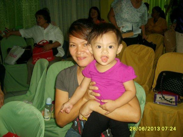 Ma cousine et ma nièce