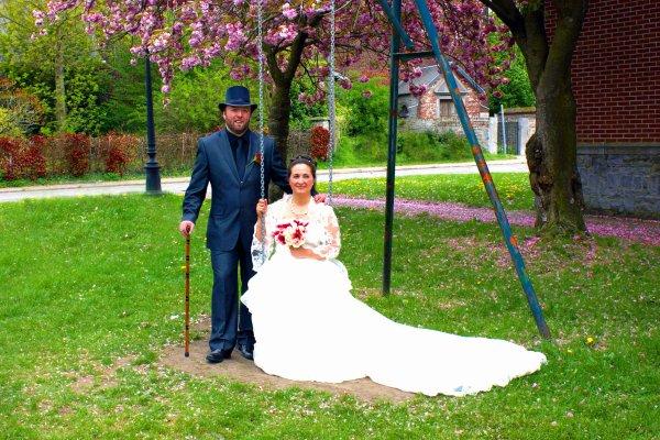 Me voici marié.