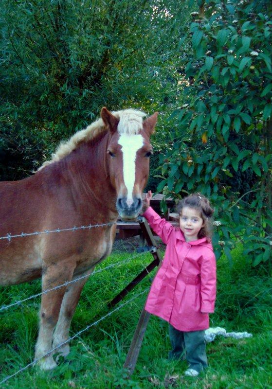 Ce sera toujours ma plus grande star, et moi, son plus grand fan, ma petite ALEXIA qui va sur ces 3 ans et demi.
