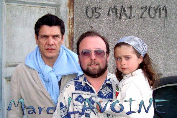 Monsieur MARC LAVOINE (1962) et ... ma petite ALEXIA