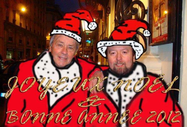 Joyeux NOËL et BONNE ANNE 2012  à tous.