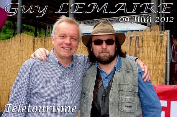 """Guy Lemaire de l'émission Belge """"Télétourisme"""" qui a plus de 25 ans"""