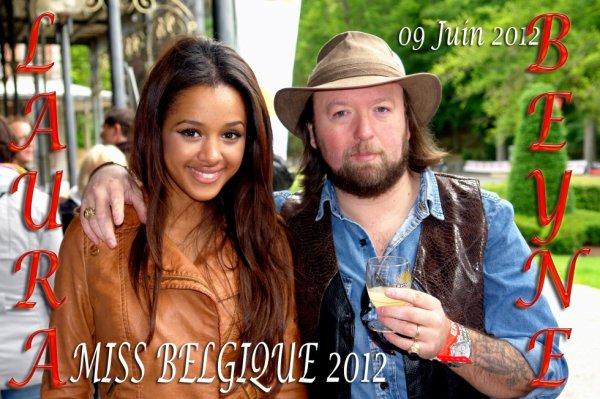 Miss BELGIQUE 2012, mademoiselle LAURA BEYNE