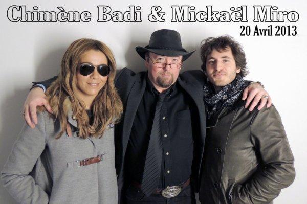 CHIMENE BADI (1982) & MICKAEL MIRO (1978)