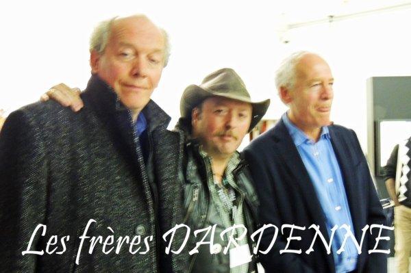 Les frères DARDENNE (photo ratée, mais c'est tellement rare de les convaincre de poser, que je n'ai pas resisté à l'envie de la mettre ici ...)