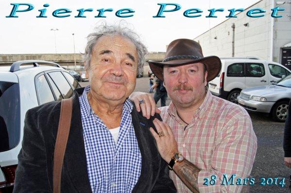 Monsieur PIERRE PERRET (1934)  d'une gentillesse incomparable, j'attendais cette rencontre depuis longtemps ...