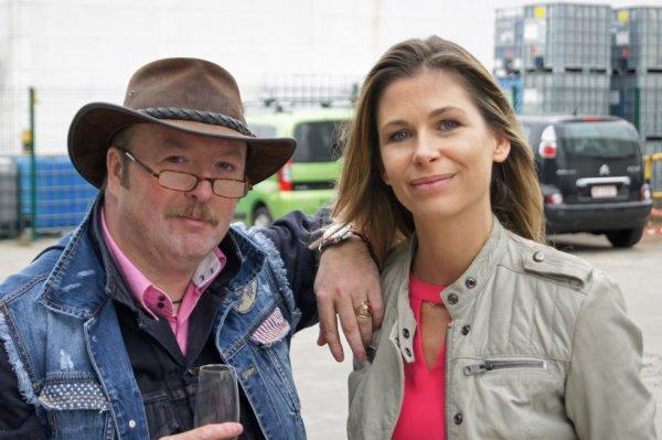 Joëlle Scoriels (1978) Élue « Personnalité TV préférée des Belges » en décembre 2012