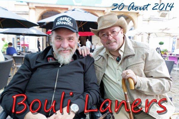 Monsieur Bouli Laners, toujours aussi chouette et cordial.
