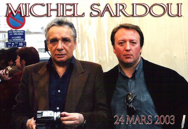 Monsieur Michel Sardou (1947) sur un téléfilm avec Alexandra Vandernoot