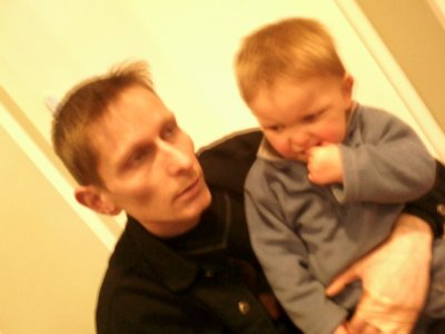 matheo et son papa