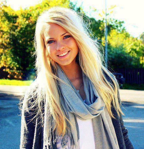 les blondes!