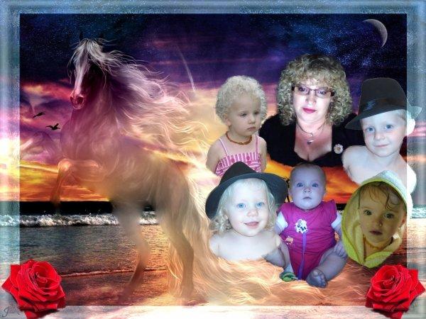 mes cinq petits enfants et moi