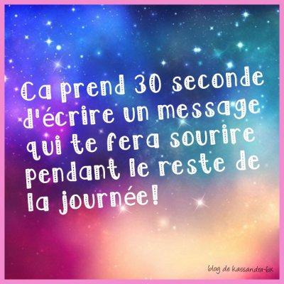 30 second .....une journee de bonheur