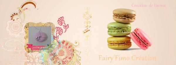 Bienvenue sur le Blog de Fairy'Fimo